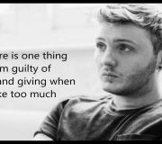 Suicide - James Arthur